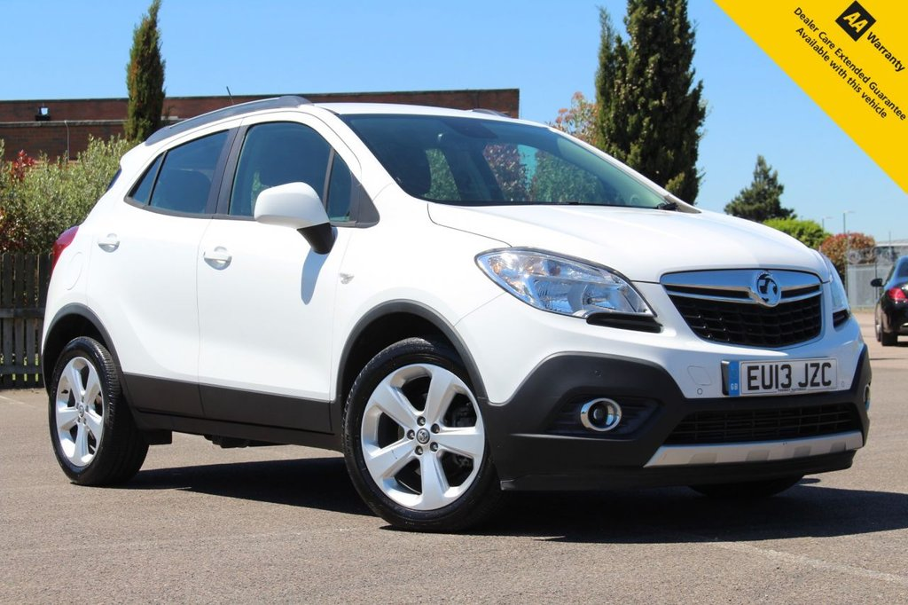 USED 2013 13 VAUXHALL MOKKA 1.7 EXCLUSIV CDTI S/S 5d 128 BHP ** 4X4 VERSION! ** SUPERB FULL SERVICE HISTORY ** BRAND NEW SERVICE + ADVISORY FREE MOT - EXPIRY JUNE 2022 ** FRONT + REAR PARKING AID ** BLUETOOTH + DAB RADIO ** CRUISE CONTROL + LIMITER ** DUAL ZONE CLIMATE CONTROL ** USB + AUX ** AUTO LIGHTS ** POWER MIRRORS ** NATIONWIDE DELIVERY AVAILABLE ** BUY ONLINE IN CONFIDENCE FROM A MULTI AWARD WINNING 5* RATED DEALER **