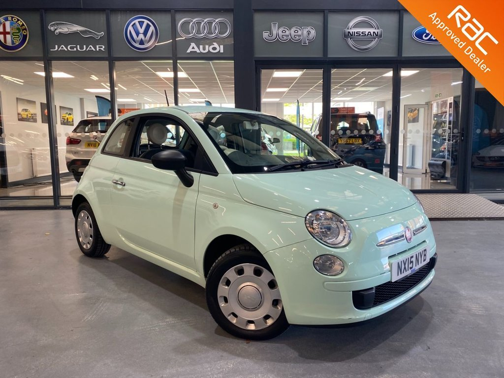 USED 2015 15 FIAT 500 1.2 POP 3d 69 BHP Complementary 12 Months RAC Warranty and 12 Months RAC Breakdown Cover Also Receive a Full MOT With All Advisory Work Completed, Fresh Engine Service and RAC Multipoint Check Before Collection/Delivery