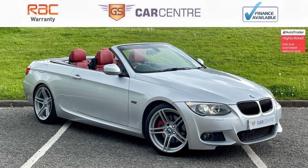 USED 2010 60 BMW 3 SERIES 3.0 330d M Sport Auto 2dr *7.9% APR Finance Available*