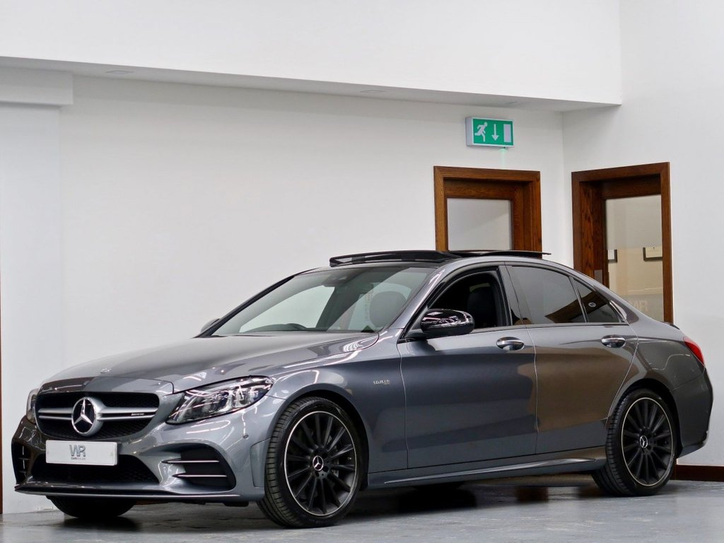 USED 2019 69 MERCEDES-BENZ C-CLASS 3.0 C43 V6 AMG (Premium Plus) G-Tronic+ 4MATIC (s/s) 4dr PAN ROOF + 360 CAM + KEYLESS