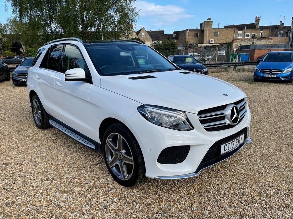 USED 2017 17 MERCEDES-BENZ GLE-CLASS 2.1 GLE250d AMG Line (Premium) G-Tronic 4MATIC (s/s) 5dr 1 Owner, Sat Nav, Pan Roof