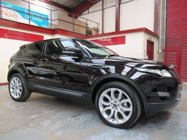 USED 2011 P LAND ROVER RANGE ROVER EVOQUE 2.2 SD4 Pure 4X4 3dr ***81000 MILES F/S/H***