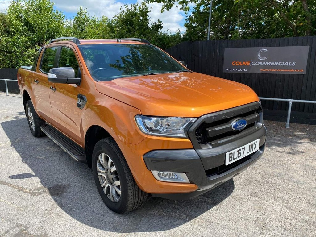 USED 2018 67 FORD RANGER 3.2 TDCi Wildtrak Double Cab Pickup Auto 4WD 4dr **EURO 6**BEAUTIFUL COLOUR**