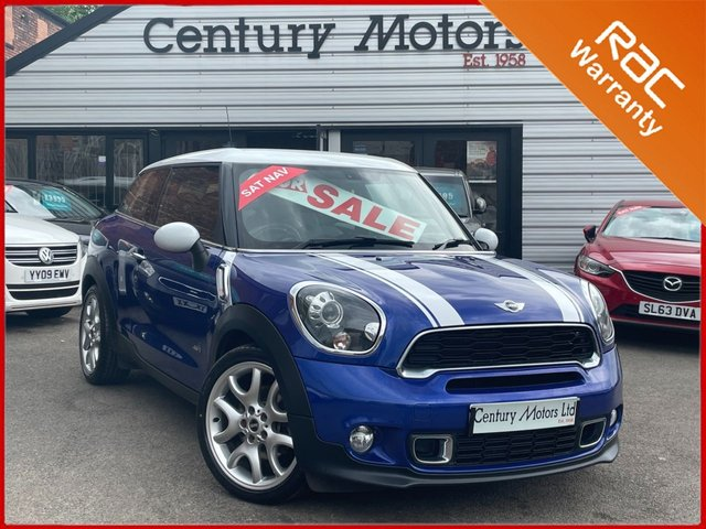 2013 13 MINI PACEMAN 1.6 Cooper S ALL4 190Bhp 3dr - £8410.00 EXTRAS
