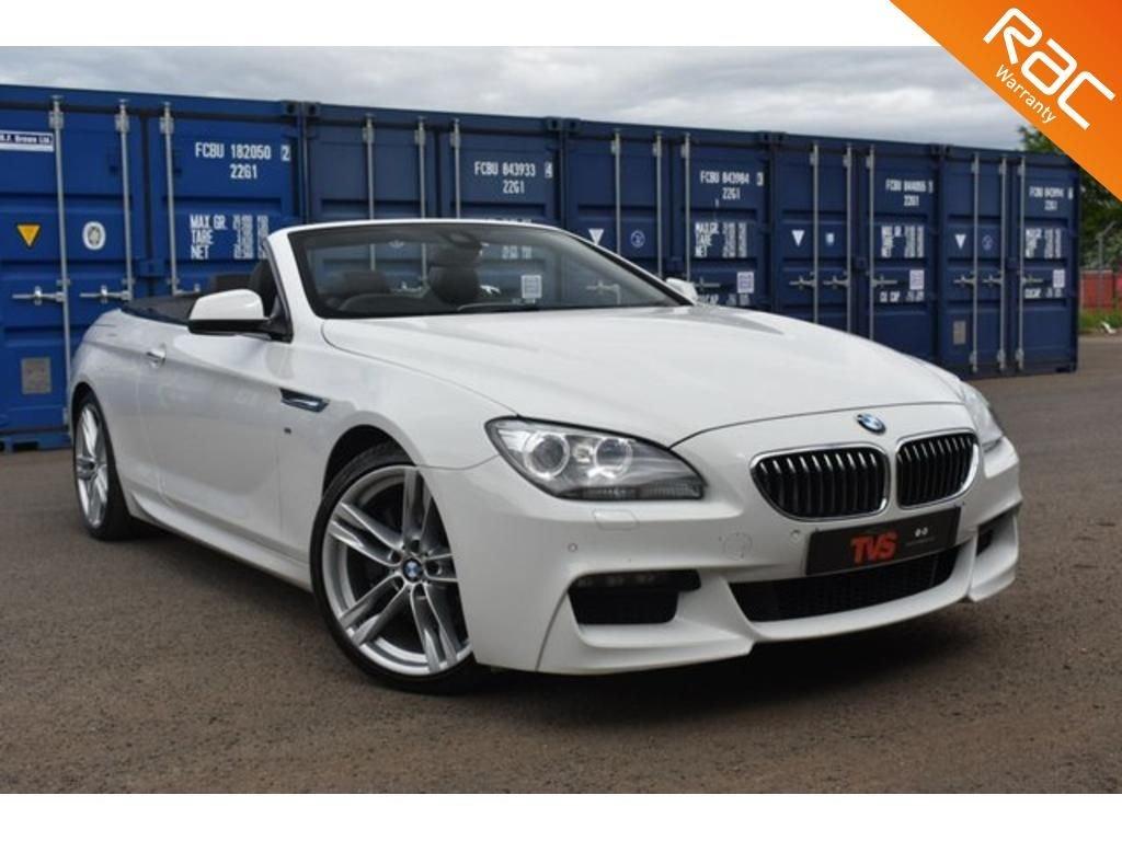 USED 2014 63 BMW 6 SERIES 3.0 640D M SPORT 2d 309 BHP