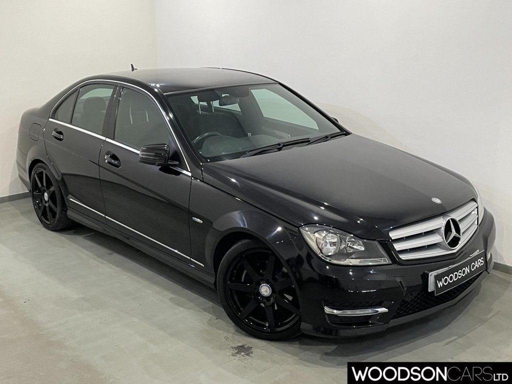 USED 2012 12 MERCEDES-BENZ C-CLASS 2.1 C200 CDI BLUEEFFICIENCY SPORT 4d 135 BHP Heated Front Seats / Bluetooth / Parking Sensors / Isofix / Cruise Control