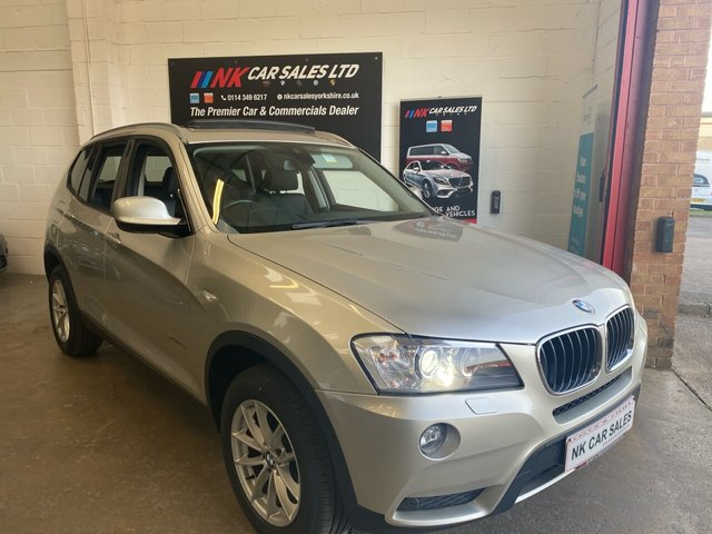 2012 62 BMW X3 2.0 XDRIVE20D SE 5d 181 BHP RARE PAN ROOF  REVERSE CAMERA MODEL SOLD TO JAMES FROM BRISTOL