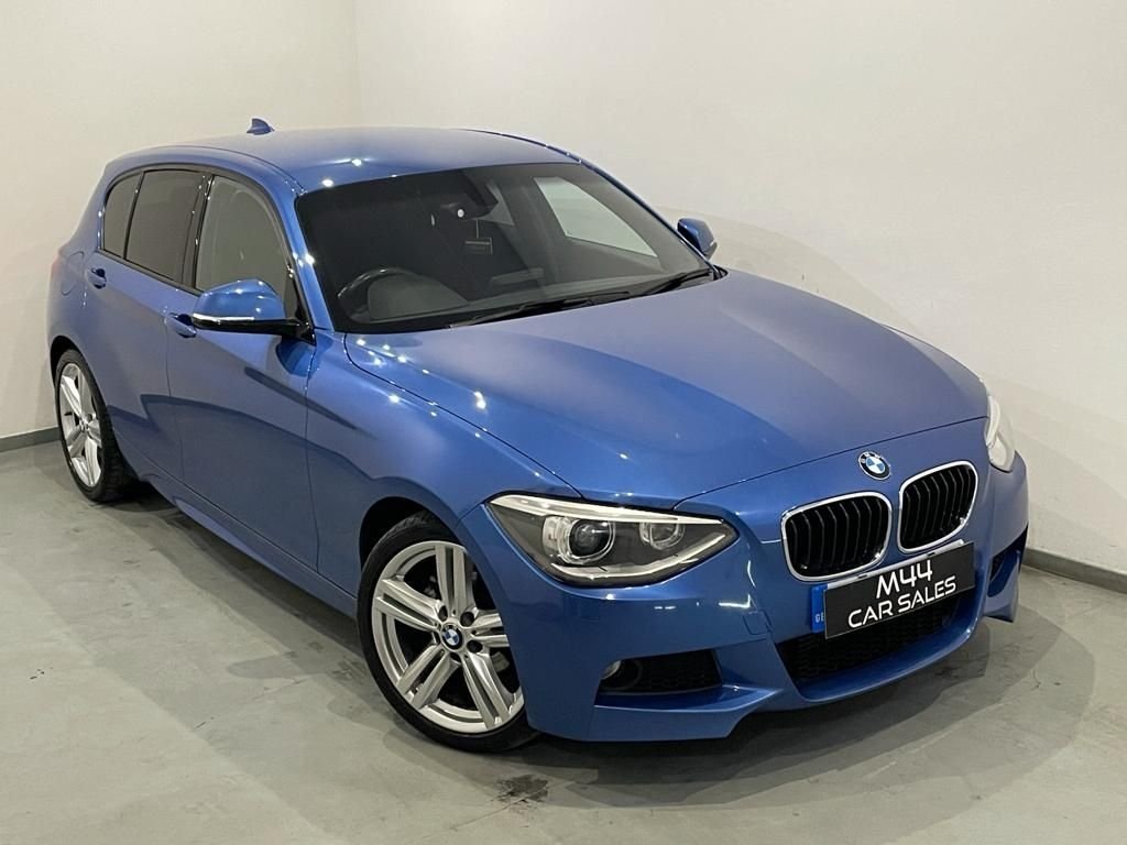 USED 2013 63 BMW 1 SERIES 2.0 118D M SPORT 5d 141 BHP Bluetooth / Aux / Cruise Control / Alloy Wheels / Dab / Isofix