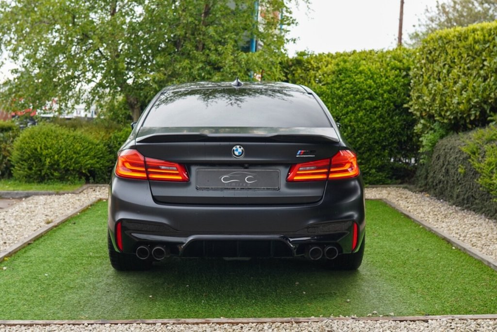 USED 2019 19 BMW M5 4.4 M5 COMPETITION 4d 617 BHP