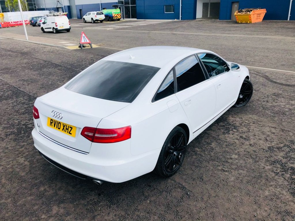 USED 2010 10 AUDI A6 2.0 TDI LE MANS S LINE EDITION AUTOMATIC FSH  FSH MOT FEB 2022 SAME OWNER 8 YEARS 2 PRE OWNERS