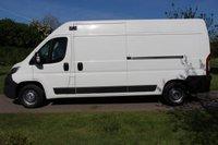USED 2015 15 PEUGEOT BOXER 2.2 HDI 335 L3H2 P/V 130 BHP NO VAT - LONG WHEEL BASE - READY TO GO -