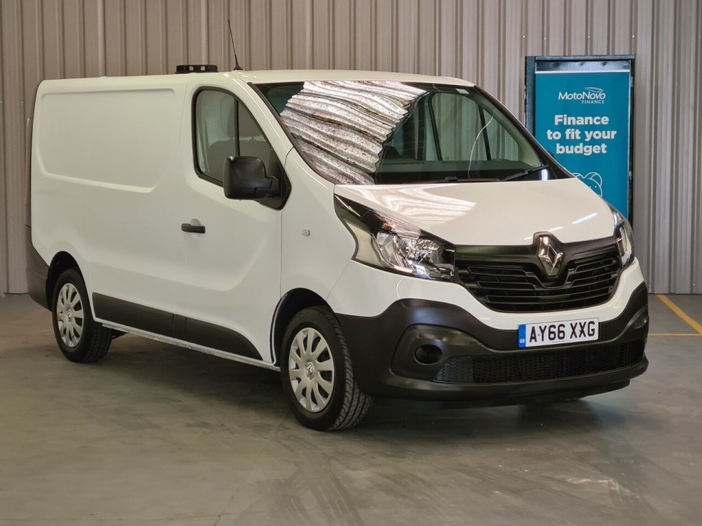 USED 2017 66 RENAULT TRAFIC 1.6 SL27 BUSINESS ENERGY DCI 125 BHP 6 MONTH GOLD WARRANTY INCLUDED