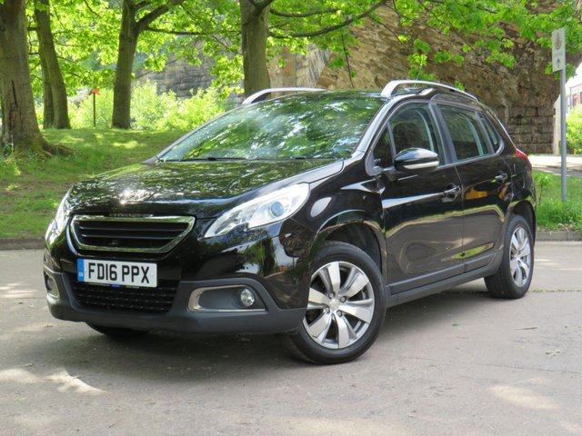 USED 2016 16 PEUGEOT 2008 1.6 BLUE HDI ACTIVE 5d 75 BHP