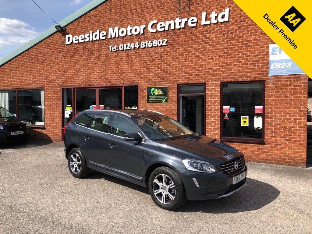 USED 2013 63 VOLVO XC60 2.4 D5 SE LUX NAV AWD 5d 212 BHP Full Volvo service history :  Bluetooth  :  Sat Nav  :  DAB Radio  :  Leather upholstery  :  Electric/Memory driver's seat :   Heated front seats  :  Isofix fittings  :  Air-conditioning/Climate control  :  Cruise control  :  Front + rear parking sensors  :  Remotely operated tailgate