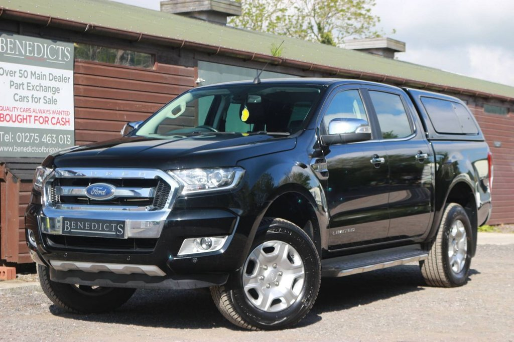 USED 2018 68 FORD RANGER 2.2 LIMITED 4X4 DCB TDCI 4d 158 BHP
