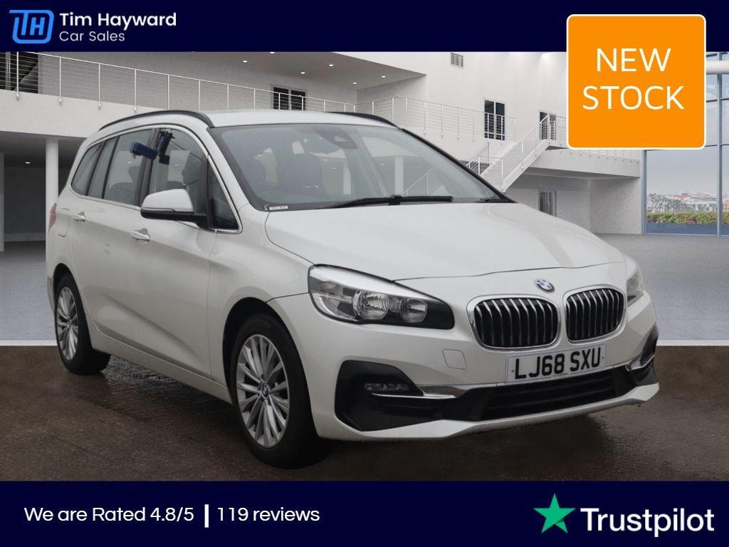 USED 2018 68 BMW 2 SERIES 2.0 220D XDRIVE LUXURY GRAN TOURER 5d 188 BHP