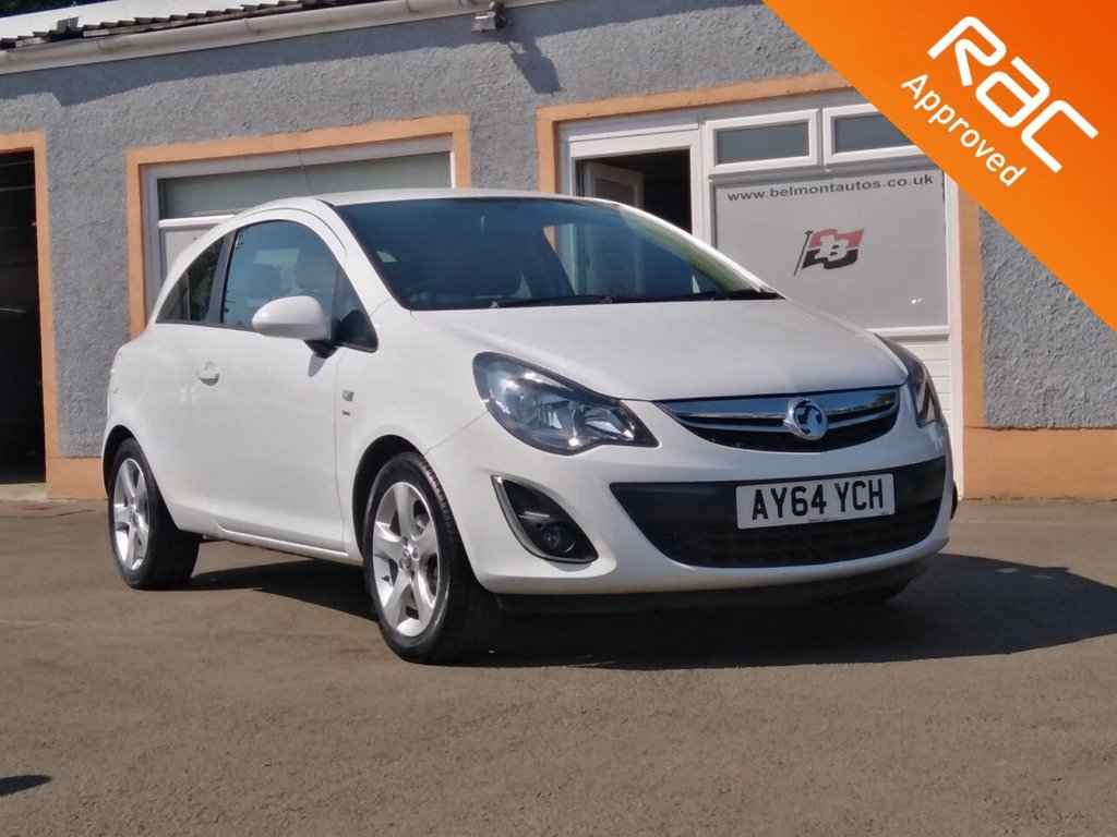 """USED 2014 64 VAUXHALL CORSA 1.2 SXI AC 3d 83 BHP 16"""" Alloys, Air Conditioning, Cd player, MP3, Free RAC Warranty and Free RAC Recovey package"""