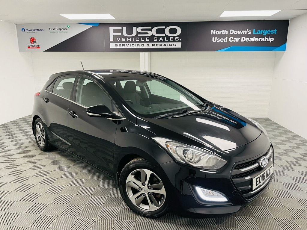 USED 2016 16 HYUNDAI I30 1.4 SE NAV BLUE DRIVE 5d 99 BHP NATIONWIDE DELIVERY AVAILABLE!