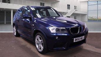 2013 BMW X3 2.0 XDRIVE20D M SPORT 5d 181 BHP £13895.00