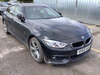 2015 BMW 4 SERIES 2.0 420D XDRIVE M SPORT GRAN COUPE 4d 188 BHP £15895.00