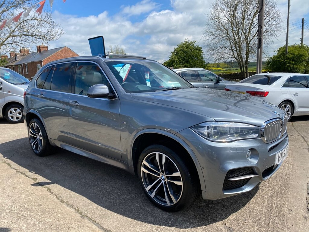 USED 2015 15 BMW X5 3.0 M50D 5d 376 BHP * 1 OWNER * PAN ROOF * 20