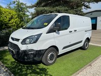 USED 2017 17 FORD TRANSIT CUSTOM 2.0 290 LR P/V 104 BHP VERY CLEAN VAN WITH FULL SRERVICE HISTORY, AERMOUR PLATE SECURITY LOCKS ALL ROUND, FULLY PLY LINED AND READY FOR IMMEDIATE WORK