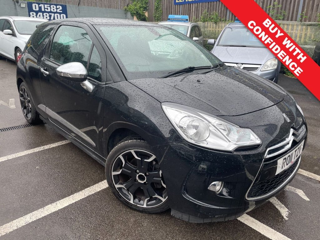 USED 2011 11 CITROEN DS3 1.6 THP DSPORT PLUS 3d 150 BHP ONLY TWO PREVIOUS OWNERS