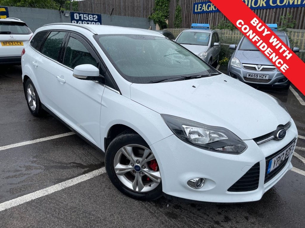 USED 2012 12 FORD FOCUS 1.6 ZETEC 5d 124 BHP GREAT SERVICE HISTORY