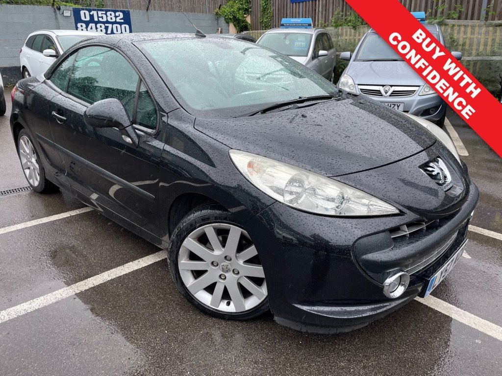 USED 2007 57 PEUGEOT 207 1.6 GT COUPE CABRIOLET 2d 118 BHP FULL SERVICE HISTORY