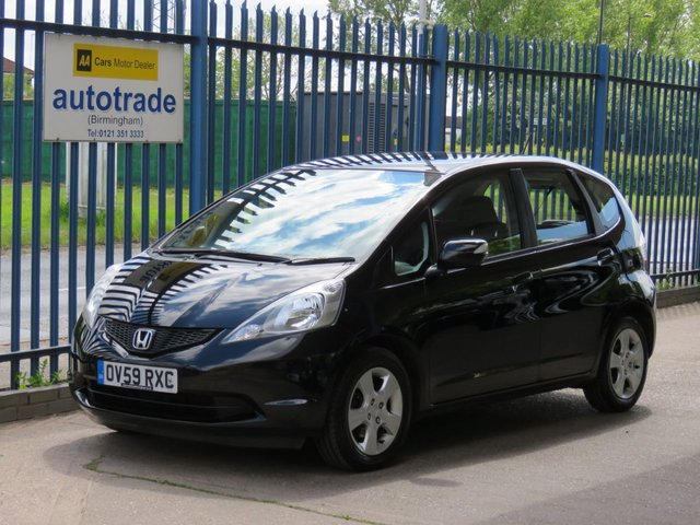 USED 2009 59 HONDA JAZZ 1.3 I-VTEC ES I-SHIFT 5d 98 BHP Automatic, Air Conditioning, Alloy Wheels