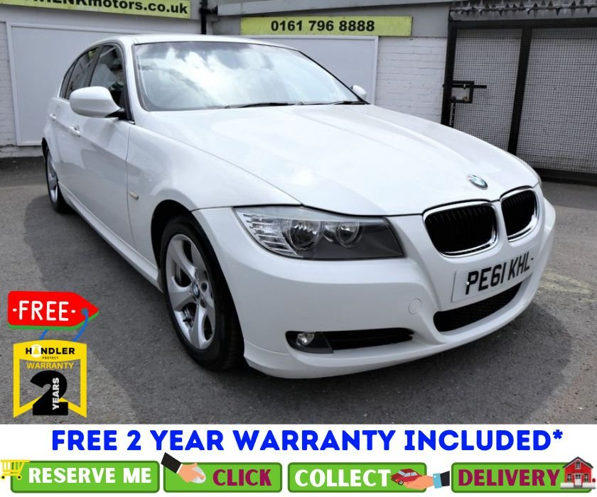 USED 2011 61 BMW 3 SERIES 2.0 320D EFFICIENTDYNAMICS 4d 161 BHP *CLICK & COLLECT OR DELIVERY *