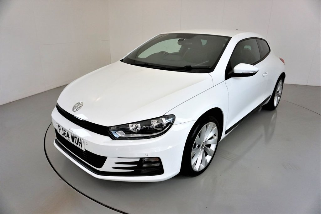 USED 2014 64 VOLKSWAGEN SCIROCCO 1.4 GT TSI BLUEMOTION TECHNOLOGY 2d-2 OWNER CAR-18