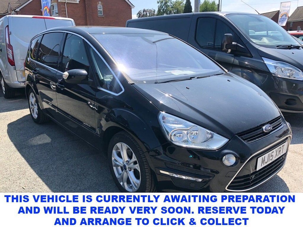 USED 2015 15 FORD S-MAX 2.0 TITANIUM TDCI 5d 138 BHP The Ideal Family 7 Seater