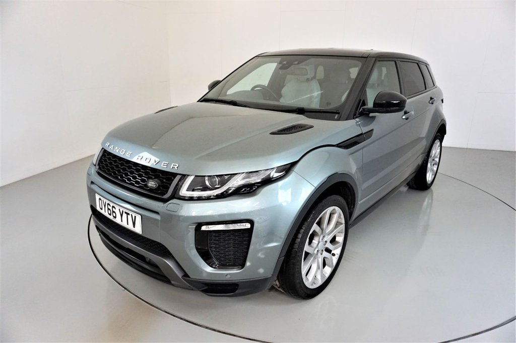 USED 2016 66 LAND ROVER RANGE ROVER EVOQUE 2.0 TD4 HSE DYNAMIC 5d AUTO-2 OWNER CAR-ELECTRIC MEMORY SEAT-ELECTRIC FOLDING MIRRORS-MERIDIAN SOUND-HEATED IVORY LEATHER-20
