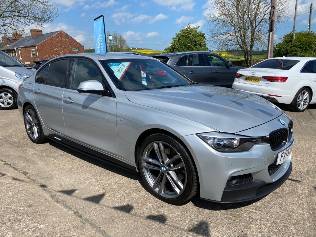 USED 2015 15 BMW 3 SERIES 3.0 330D XDRIVE M SPORT 4d 255 BHP * 1 OWNER * 19