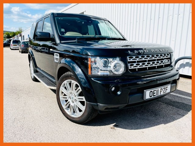 USED 2011 11 LAND ROVER DISCOVERY 3.0 4 SDV6 HSE 5d 245 BHP GOOD HISTORY, 8 STAMPS IN THE BOOK - 12 MONTH MOT UNTIL MAY 2022 - HEATED SEATS FRONT 7 REAR - HEATED STEERING WHEEL - TOW BAR FITTED - 3 MONTH WARRANTY