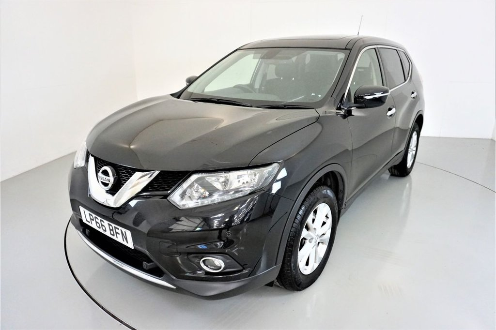 USED 2017 66 NISSAN X-TRAIL 1.6 DCI ACENTA XTRONIC 5d AUTO-2 OWNER CAR-PANORAMIC SUNROOF-BLUETOOTH-CRUISE CONTROL-CLIMATE CONTROL
