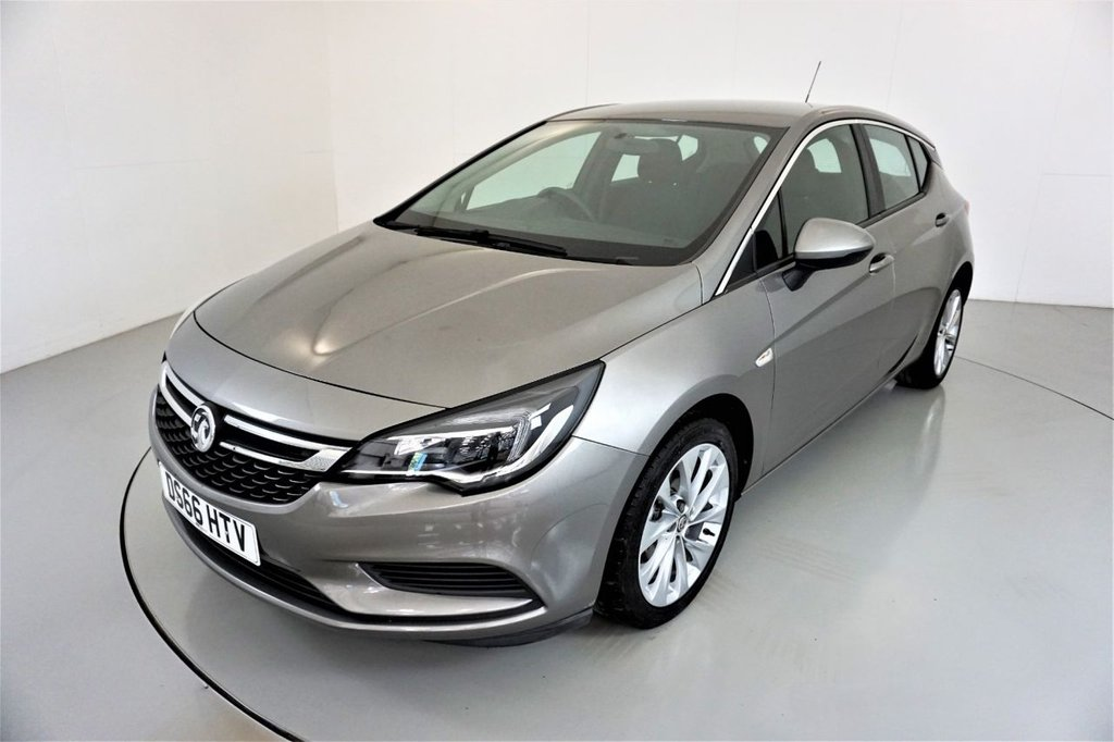 USED 2016 66 VAUXHALL ASTRA 1.0 DESIGN ECOFLEX S/S 5d-2 FORMER KEEPERS-BLUETOOTH-CRUISE CONTROL-DAB RADIO