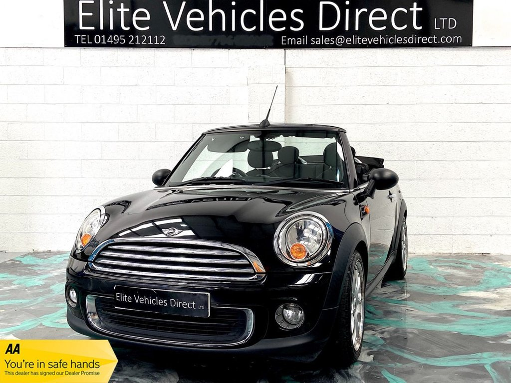 USED 2010 60 MINI CONVERTIBLE 1.6 ONE 2d 98 BHP CONVERTIBLE