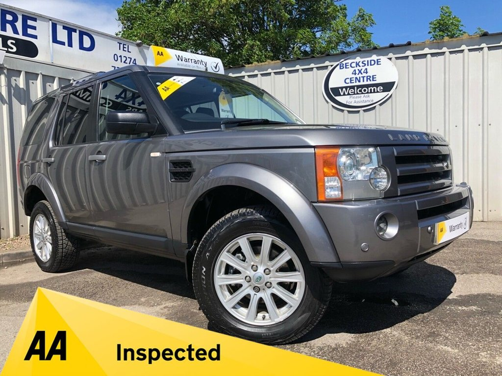 USED 2008 58 LAND ROVER DISCOVERY 2.7 3 TDV6 SE 5d 188 BHP AA INSPECTED. FINANCE. WARRANTY. HIGH SPEC. LOW MILEAGE. MANY EXTRAS