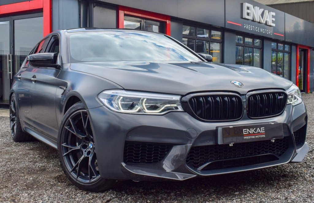 USED 2019 69 BMW M5 4.4 M5 COMPETITION 35 JAHRE EDITION 4d 617 BHP