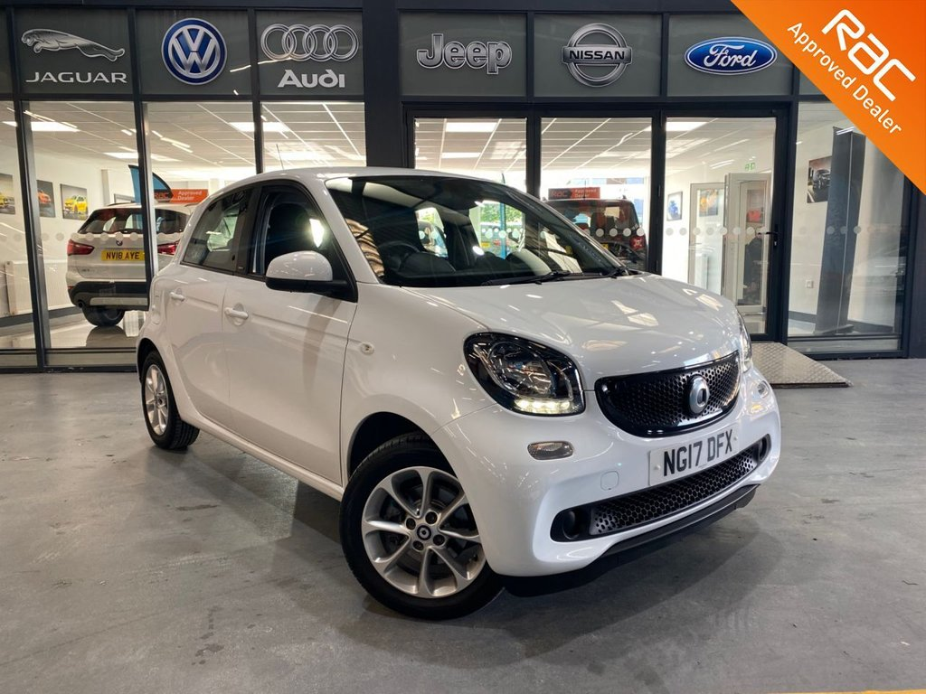 USED 2017 17 SMART FORFOUR 1.0 PASSION 5d 71 BHP Complementary 12 Months RAC Warranty and 12 Months RAC Breakdown Cover Also Receive a Full MOT With All Advisory Work Completed, Fresh Engine Service and RAC Multipoint Check Before Collection/Delivery
