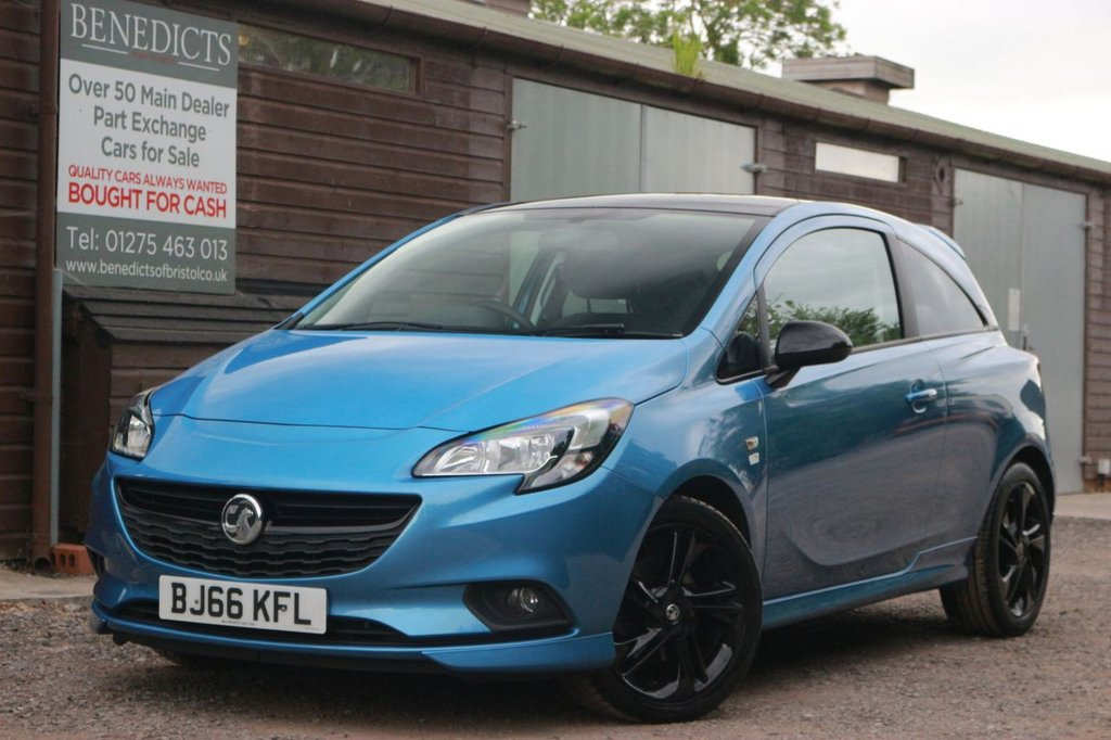 USED 2016 66 VAUXHALL CORSA 1.0 LIMITED EDITION ECOFLEX S/S 3d 113 BHP