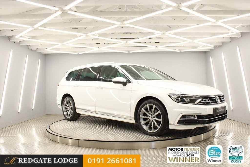 USED 2017 17 VOLKSWAGEN PASSAT 2.0 R LINE TDI BLUEMOTION TECHNOLOGY DSG 5d 148 BHP SAT/NAV, PAN ROOF, ADAPTIVE CRUISE, HEATED LEATHER, FRONT + REAR PARK, 6 SERVICES.....