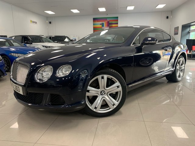 """USED 2012 12 BENTLEY CONTINENTAL 6.0 GT 2d 567 BHP KEYLESS GO + 20"""" ALLOYS, AIR SUSPENSION, ELECTRIC SPOILER!"""