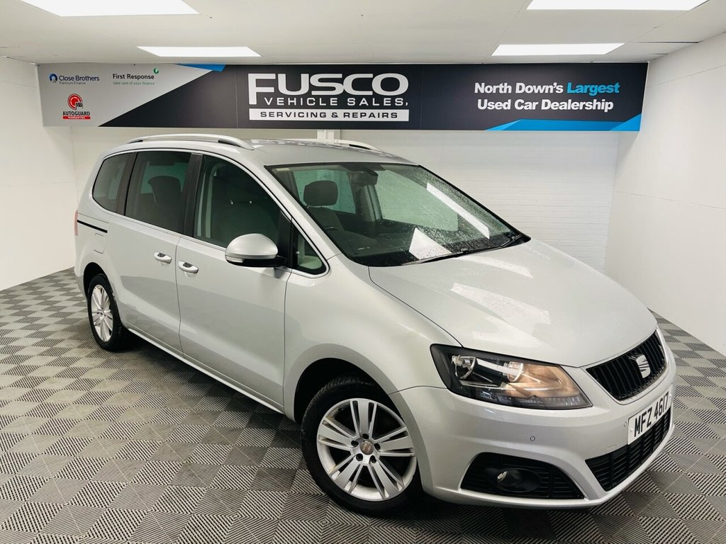 USED 2013 SEAT ALHAMBRA 2.0 CR TDI ECOMOTIVE SE 5d 140 BHP NATIONWIDE DELIVERY AVAILABLE!