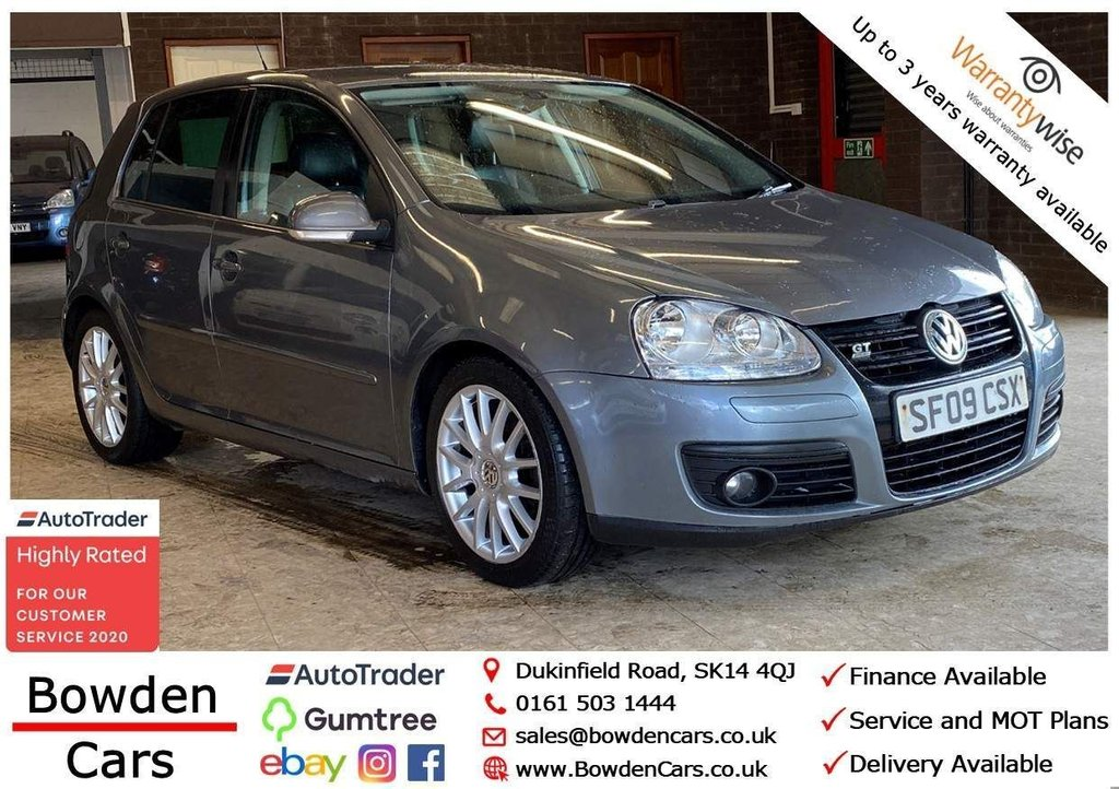 USED 2009 09 VOLKSWAGEN GOLF 2.0 TDI GT 5dr **FREE NATIONWIDE DELIVERY**