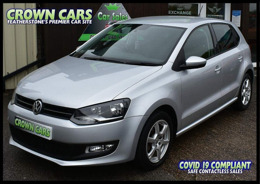 USED 2010 10 VOLKSWAGEN POLO 1.2 Moda 5dr BEAUTIFUL LOW MILEAGE EXAMPLE