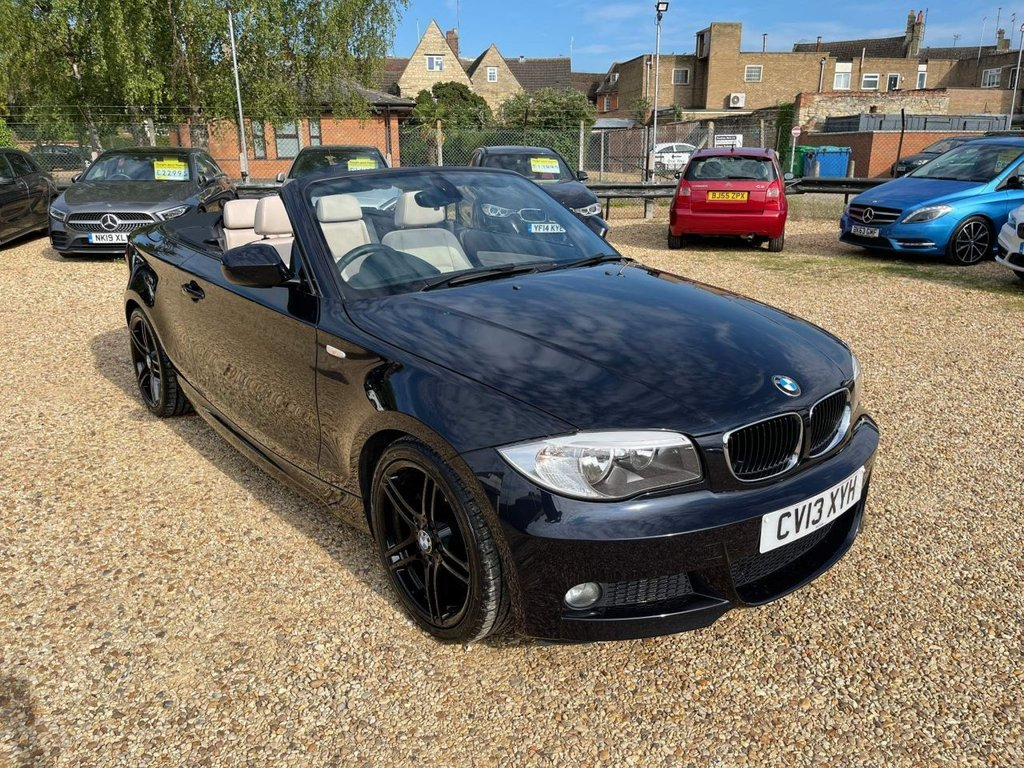 USED 2013 13 BMW 1 SERIES 2.0 118d Sport Plus Edition Auto 2dr Leather & 7 Service Stamps