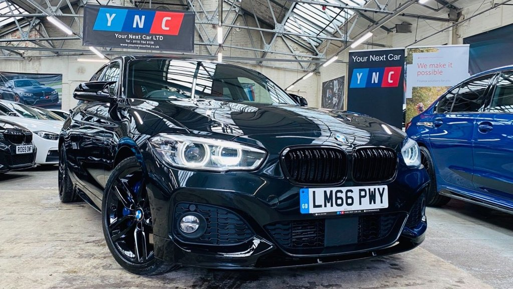 USED 2016 66 BMW 1 SERIES 2.0 125d M Sport Auto (s/s) 5dr PERFORMANCEKIT+RADARCRUISE+18S